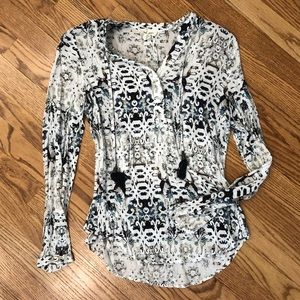 Tribal Long Sleeve Top